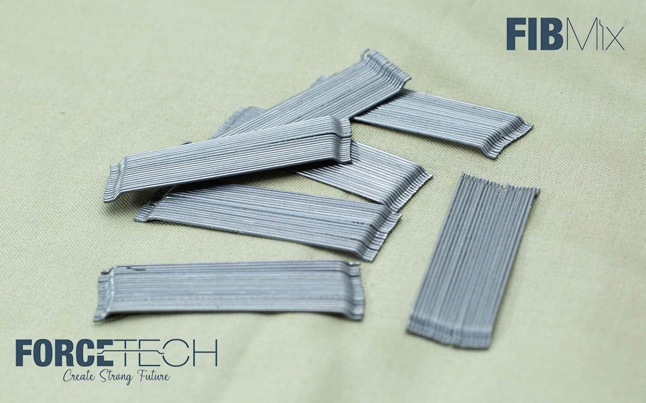 Glued steel fiber - Fibmix